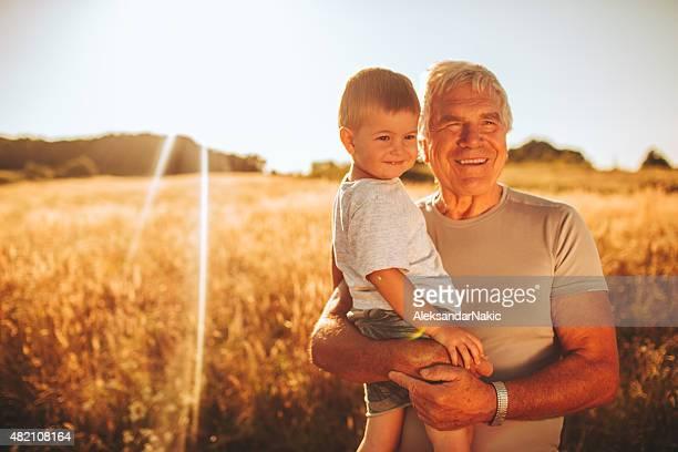 Grandpa y me