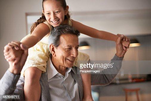 Grandpa is so much fun