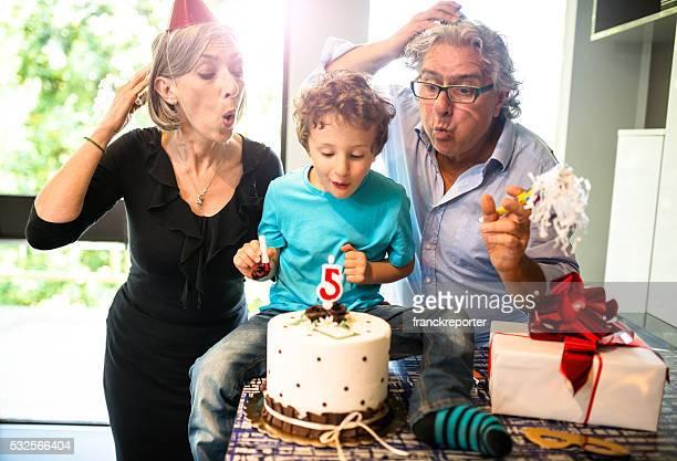 Nonni festa di compleanno