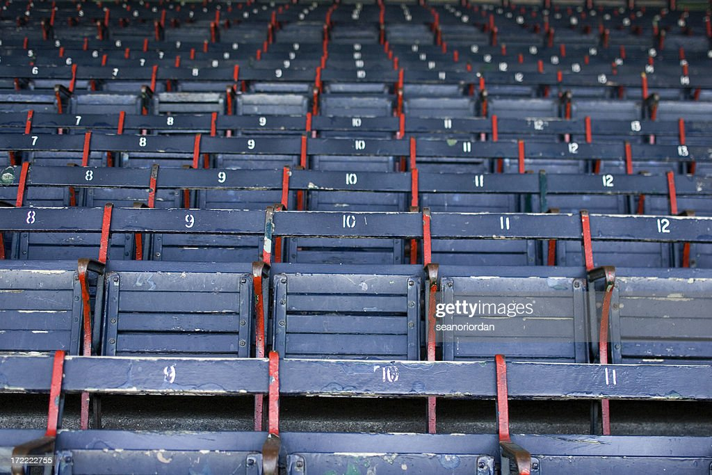 Grandstand at the Ballpark : Stock Photo