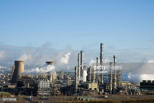 Grangemouth Petrochemical Refinery