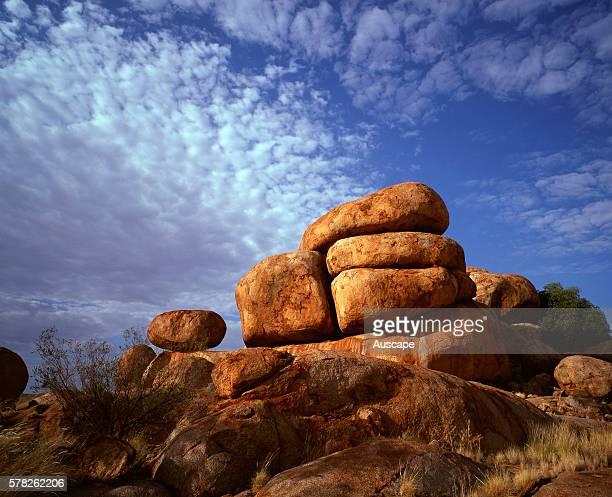 Granite boulders in Karlwekarlwe Karlu Karlu round objects in local Aboriginal language This is a Sacred Meeting Place for local Aboriginal people...