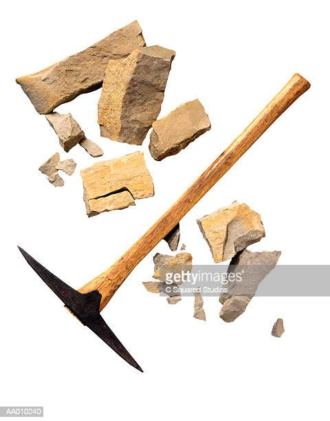 Granite with a Pick Ax