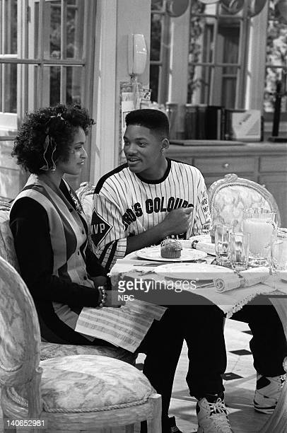 AIR 'Granny Gets Busy' Episode 5 Pictured Karyn Parsons as Hilary Banks Will Smith as William 'Will' Smith  Photo by Joseph Del Valle/NBCU Photo Bank
