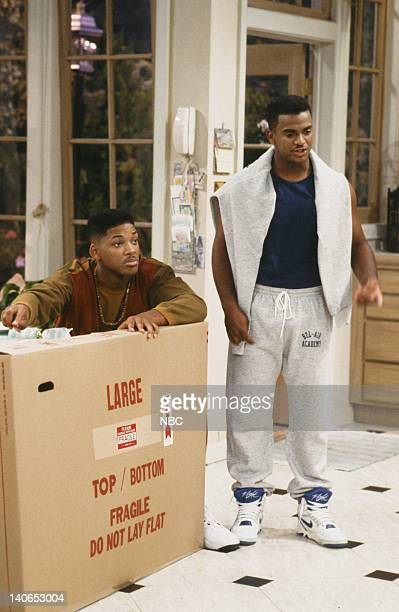 AIR 'Granny Gets Busy' Episode 5 Pictured Will Smith as William 'Will' Smith James Avery as Philip Banks Photo by Joseph Del Valle/NBCU Photo Bank