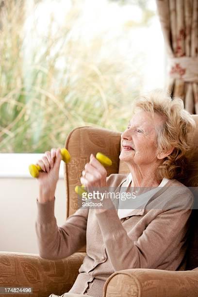 Granny Keeping Fit