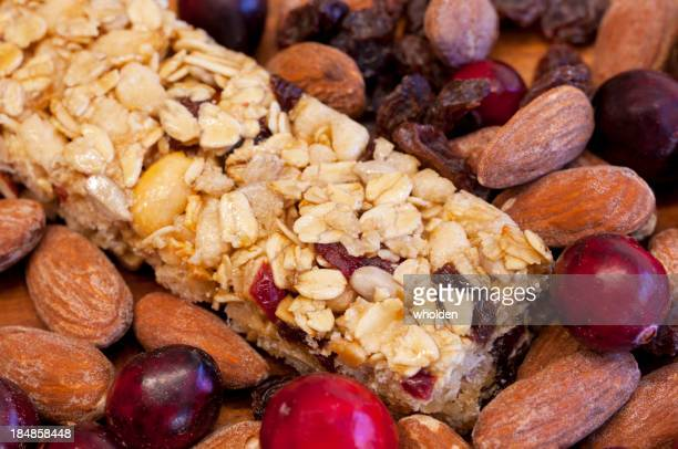 Granola Bar Fruit and Nuts