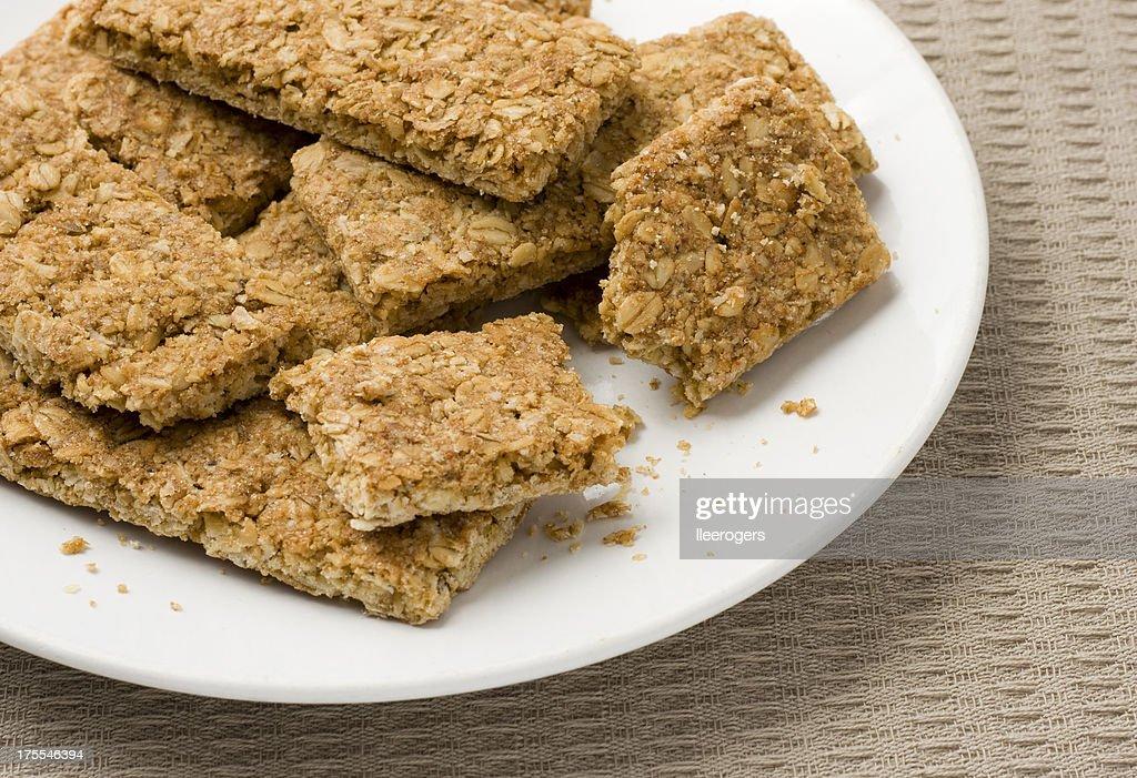 granola bars close-up : Stock Photo
