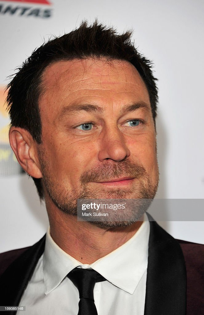 Grant Bowler arrives for the G'Day USA Black Tie Gala held at at the JW Marriot at LA Live on January 12, 2013 in Los Angeles, California.