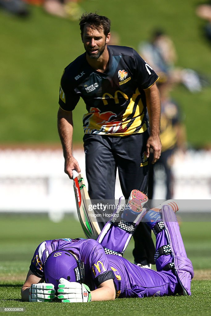 McDonalds Super Smash T20 -  Wellington Firebirds v Canterbury Kings