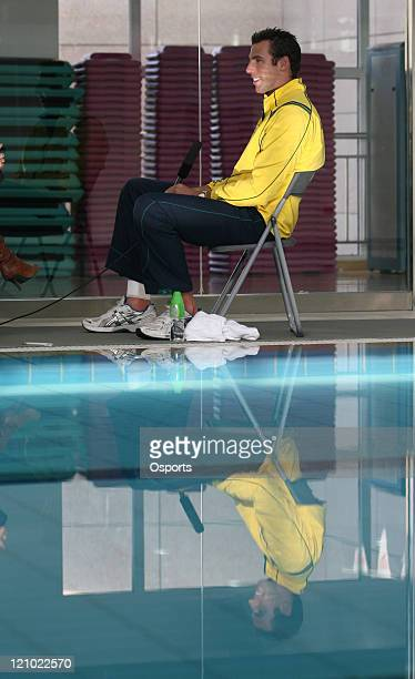 Grant Hackett an Australian swimmer who won the men's 1500 metres freestyle race at both the 2000 Summer Olympics in Sydney and the 2004 Summer...
