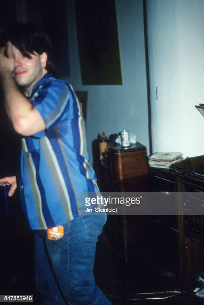 Grant Hart drummer and songwriter for the hard rock punk band Husker Du at his Loft in St Paul Minnesota on July 1 1986