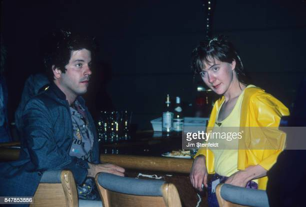 Grant Hart drummer and songwriter for the rock band Husker Du and friend at the Minnesota Music Awards in Minneapolis Minnesota on May 12 1988