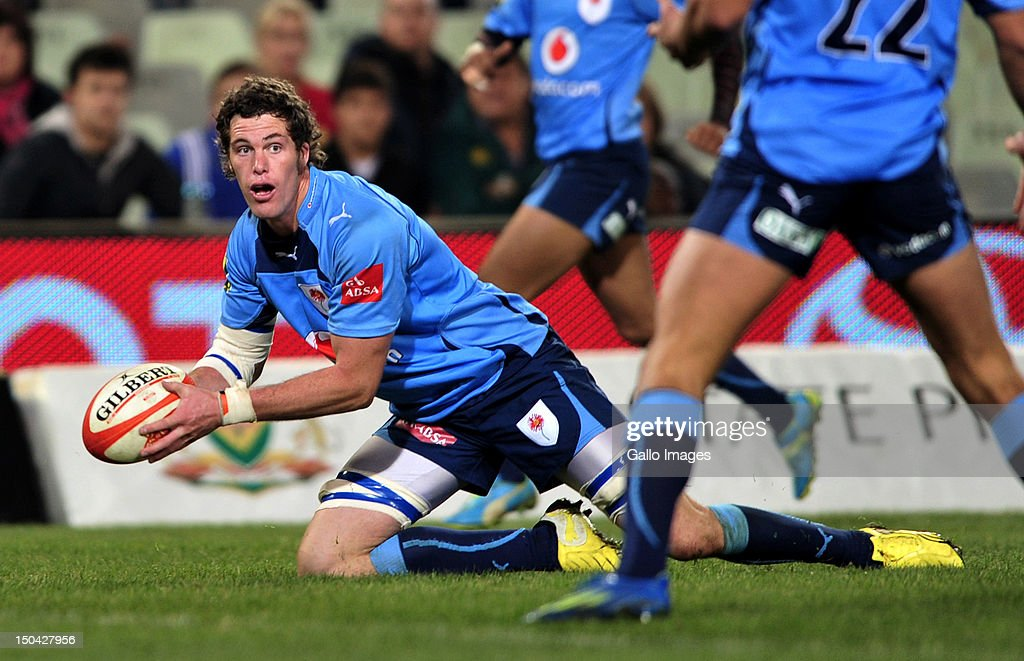 Grant Hattingh of the Blue Bulls during the Absa Currie Cup match between Toyota Free State Cheetahs and Vodacom Blue Bulls at Free State Stadium on August 17, 2012 in Bloemfontein, South Africa.