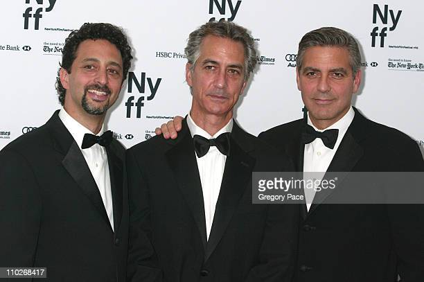 Grant Heslov cowriter of the film David Strathairn and George Clooney director
