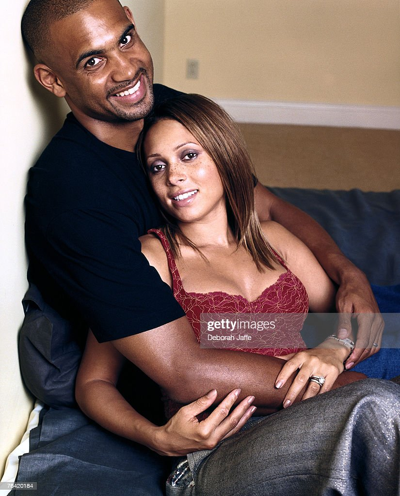 Grant Hill & Tamia Glamour September 1 2001 s and