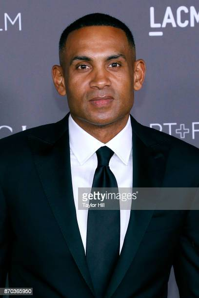 Grant Hill attends the 2017 LACMA Art Film Gala Honoring Mark Bradford And George Lucas at LACMA on November 4 2017 in Los Angeles California