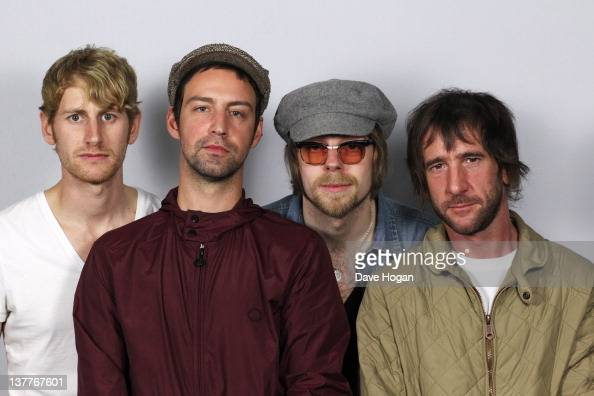 Grant Marsh Joel Stoker Lucas Crowther and Rob Pyne of The Rifles perform for a Biz Session to promote their new album 'Freedom Run' on November 4th...