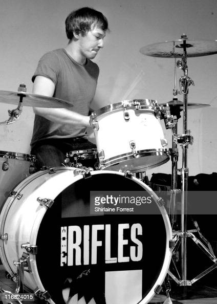 Grant Marsh of The Rifles performs at HMV on January 26 2009 in Manchester England