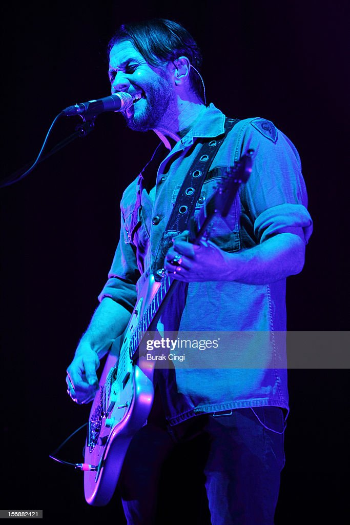 <a gi-track='captionPersonalityLinkClicked' href=/galleries/search?phrase=Grant+Nicholas&family=editorial&specificpeople=228982 ng-click='$event.stopPropagation()'>Grant Nicholas</a> of Feeder performs at Brixton Academy on November 23, 2012 in London, England.