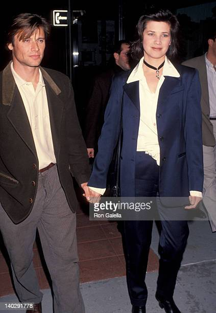 Grant Show and Daphne Zuniga at the Screening of 'Falling Down' Mann Village Theater Westwood