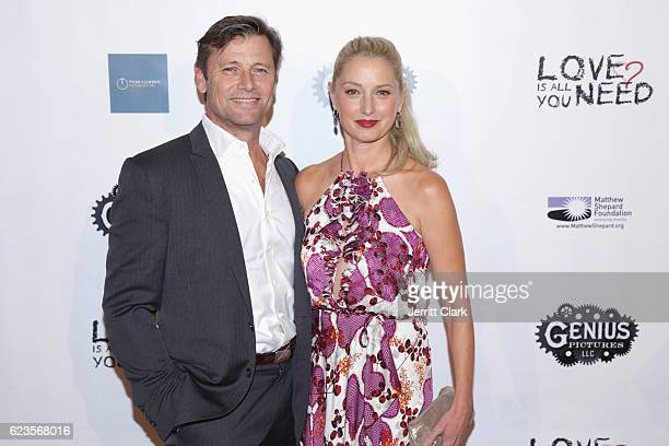 Grant Show and Katherine LaNasa attend the Premiere Of 'Love Is All You Need' at ArcLight Hollywood on November 15 2016 in Hollywood California