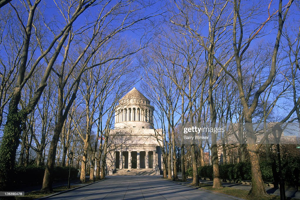 Grant's Tomb, Federal Monument, Upper West Side, New York City : Stock Photo