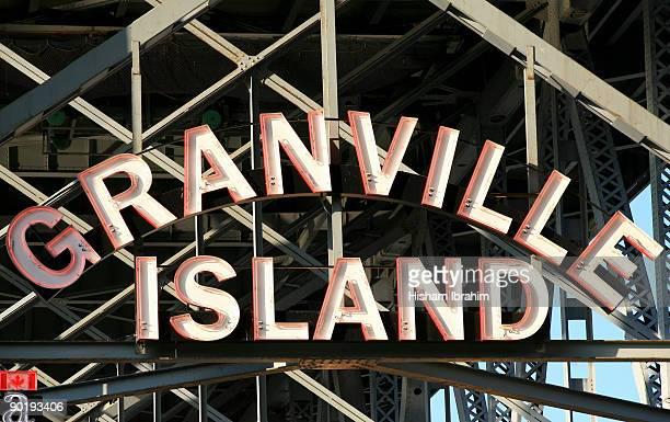 Granville Island Neon Sign - Vancouver, BC