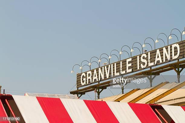 Panneau de l'île de Granville à Vancouver
