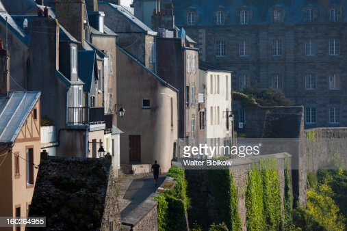 Granville, Normandy, Town View