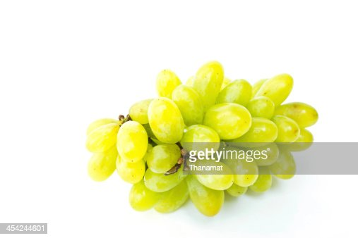 Grape on a white background : Stock Photo