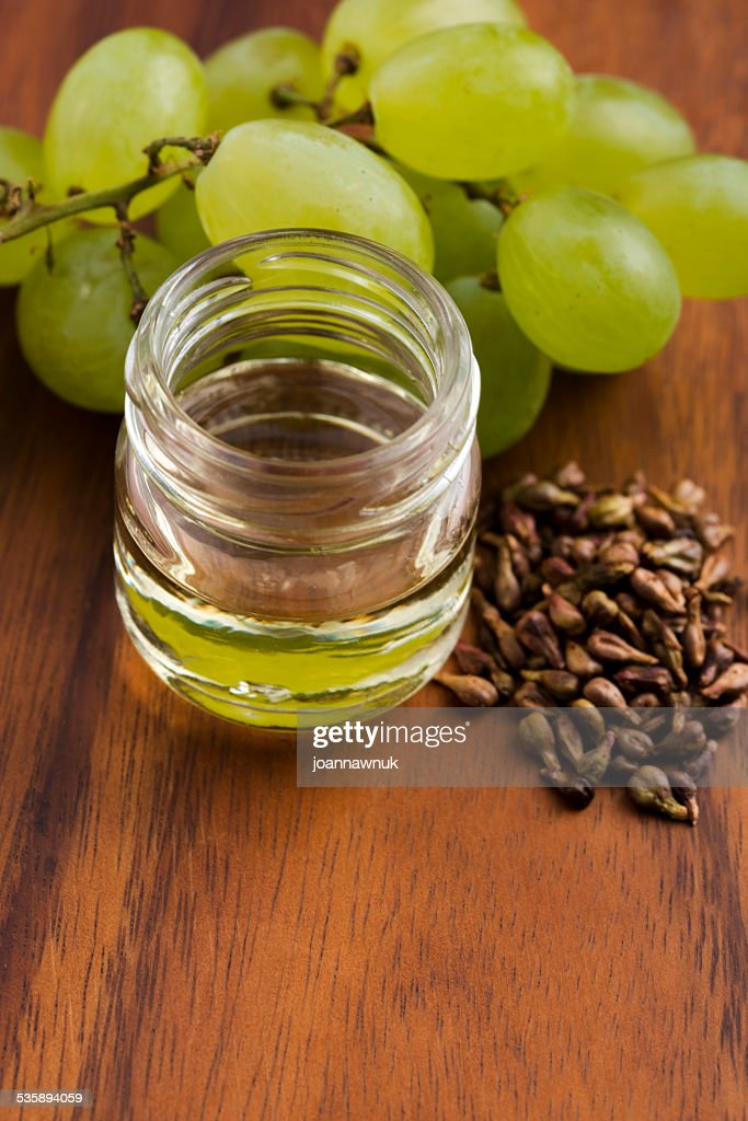 grape seed oil : Stockfoto