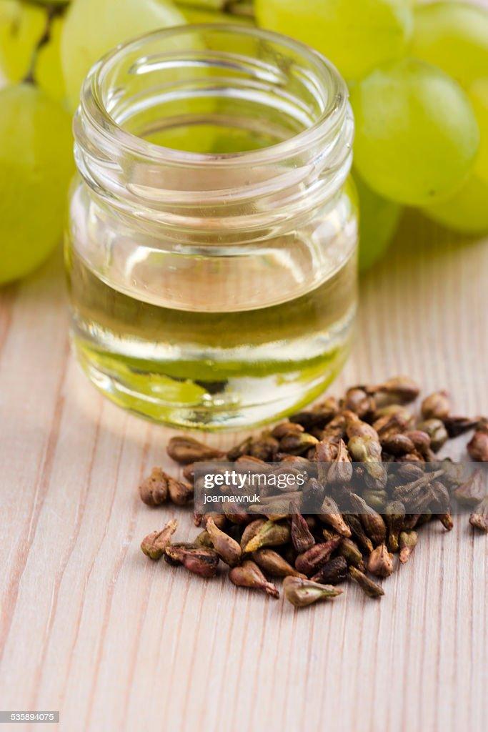 Olio di vinacciolo : Foto stock