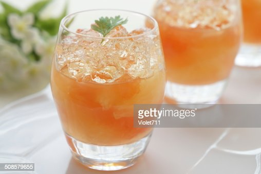 Grapefruit Jelly : Stock Photo