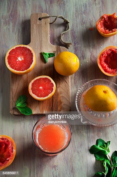 Grapefruits and grapefruit juice