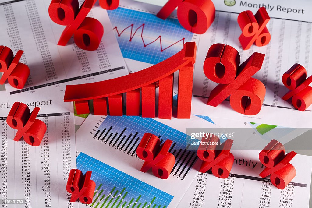 Graph diagram : Stock Photo