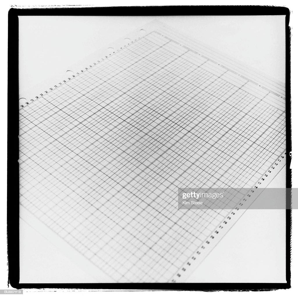 Graph Paper : Stock Photo