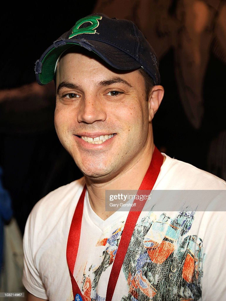 Graphic artist Geoff Johns attends the 2009 New York Comic Con at the Jacob Javits Center on February 8, 2009 in New York City.
