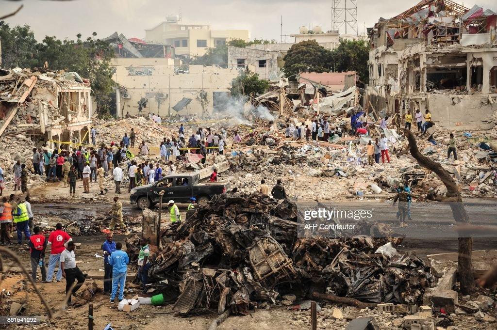 Hundreds Dead In Mogadishu Truck Bomb Blast