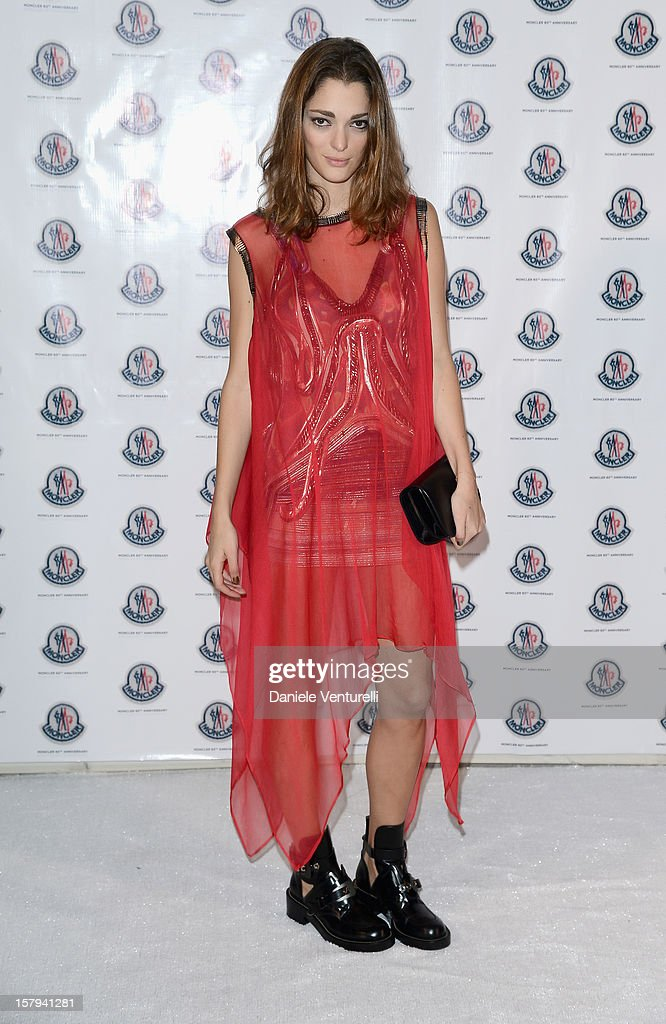 Graphic designer/fashion art director Sofia Sanchez attend a private dinner celebrating Remo Ruffini and Moncler's 60th Anniversary during Art Basel Miami Beach on December 7, 2012 in Miami Beach, Florida.