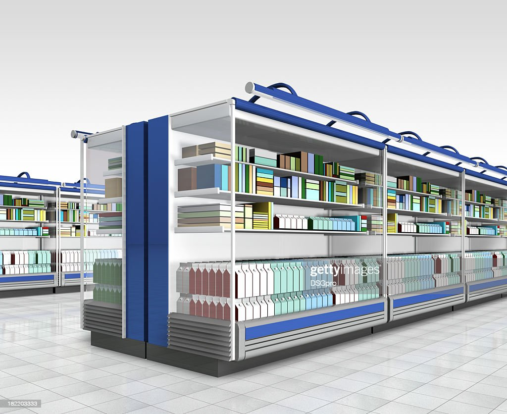Graphic image of a retail environment