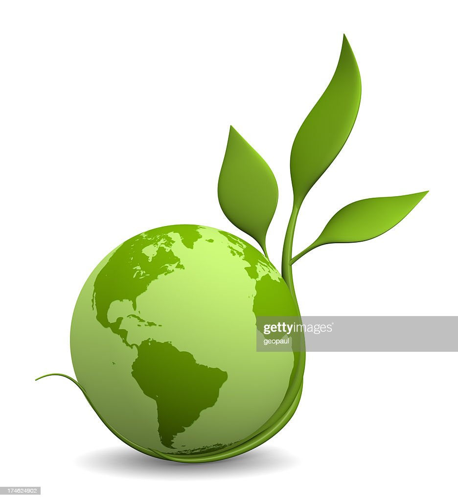 Green Earth Stock Photo | Getty Images