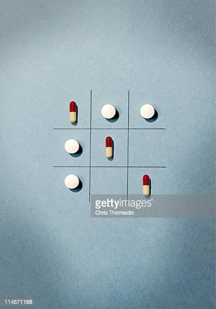 Graphic still life of Pharmaceutical drugs