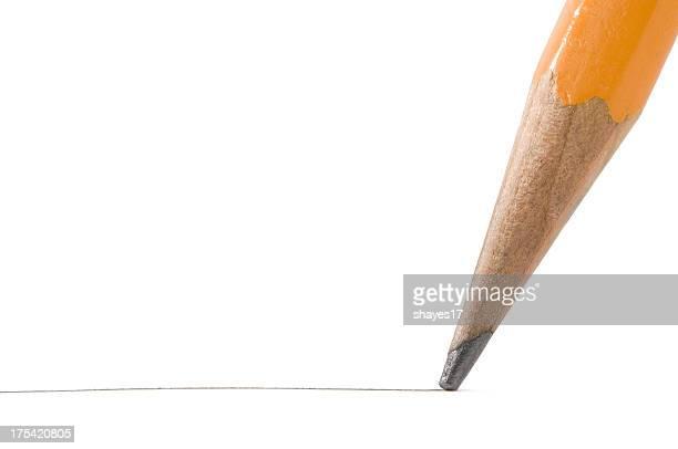 macro crayon Graphite