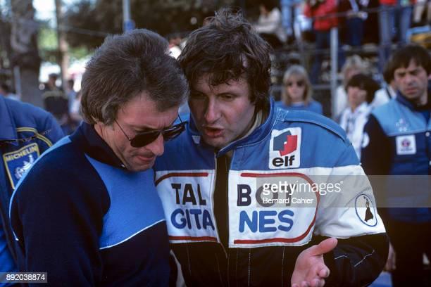 Gérard Ducarouge JeanPierre Jarier LigierMatra JS17 Grand Prix of the United States West Grand Prix of Long Beach 15 March 1981 Gérard Ducarouge...
