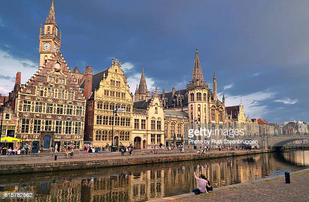 Graslei of Ghent