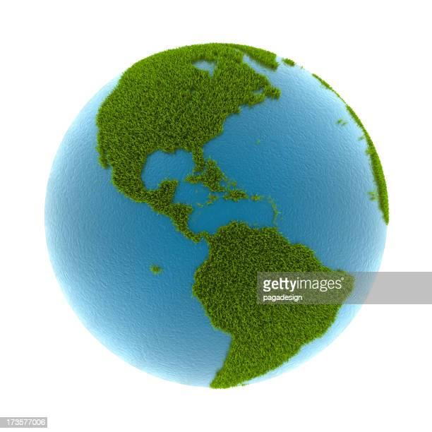 grass earth - North & South America