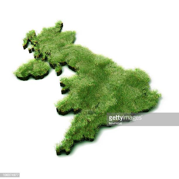 Grass Map of UK