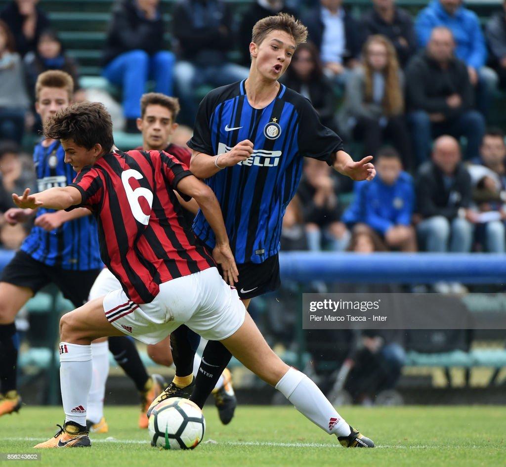 FC Internazionale U16 v AC Milan U16 s and