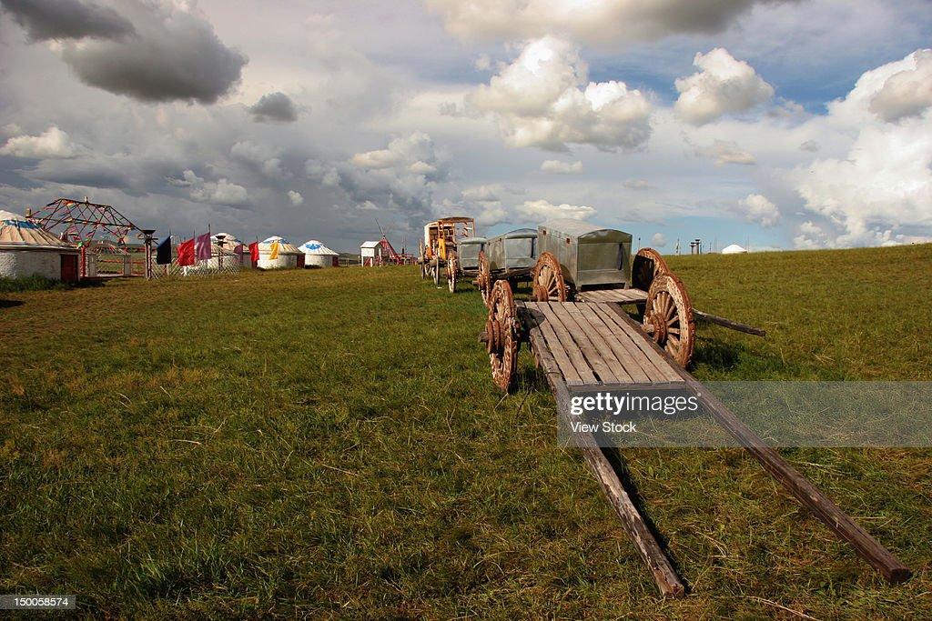 'Grassland,Inner Mongolia,China' : Stock Photo